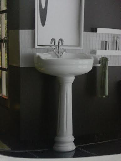 Pia de Banheiro  Produtos Fora de Linha -> Pia De Louca Para Banheiro