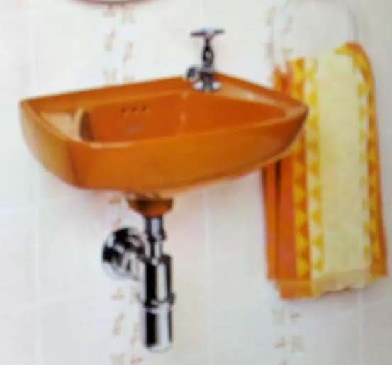 Cuba de Banheiro Antiga  Produtos Fora de Linha -> Cuba Para Banheiro Antiga